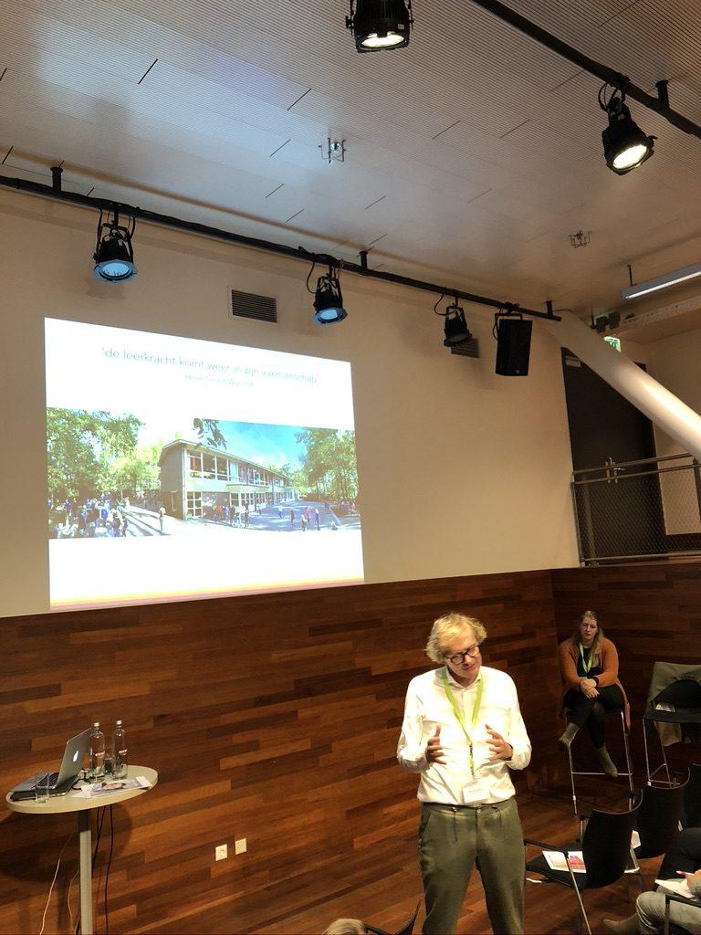 Henk Groot Wassink, directeur Marijkeschool Nijverdal, Stichting IKT, Conferentie FCP 30 oktober 2019 over het traject naar niveau 4.